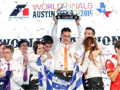 Greek student team crowned F1 in schools World Champions