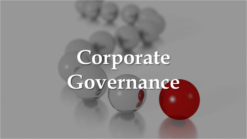 Corporate Governance: Competitiveness and Growth