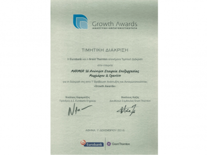 Growth Award for Stone Group International