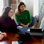 Stavros-and-Lida-Koumentakis-discuss-with-students-from-Mantoulides-school-MyEducation