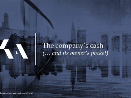 companys cash